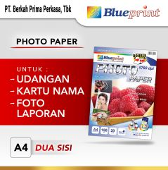 Kertas Foto  Double Sided Photo Paper BLUEPRINT A4 150 gsm